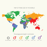 Waar komt de grootste penis vandaan?